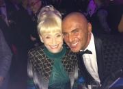 Simon Gross With Barbara Windsor