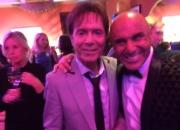 Simon Gross With Sir Cliff Richard
