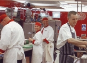 Simon Gross In Kitchen With Gary Rhodes